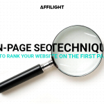 On-page SEO techniques To Rank Your Website on the First Page