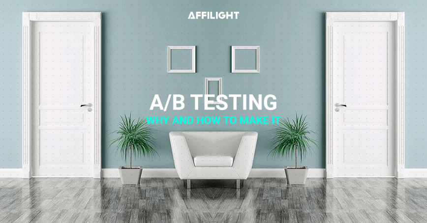 Testing as a part of landing page's optimization: A/B test