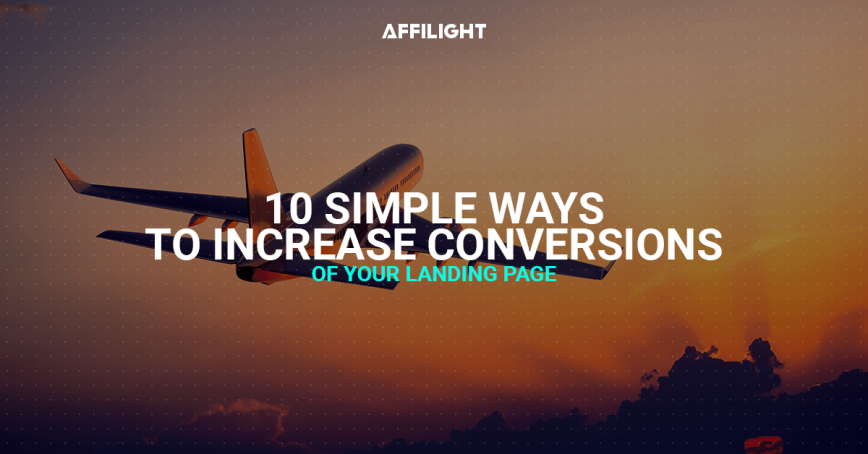 Landing page: 10 simple ways to increase conversions