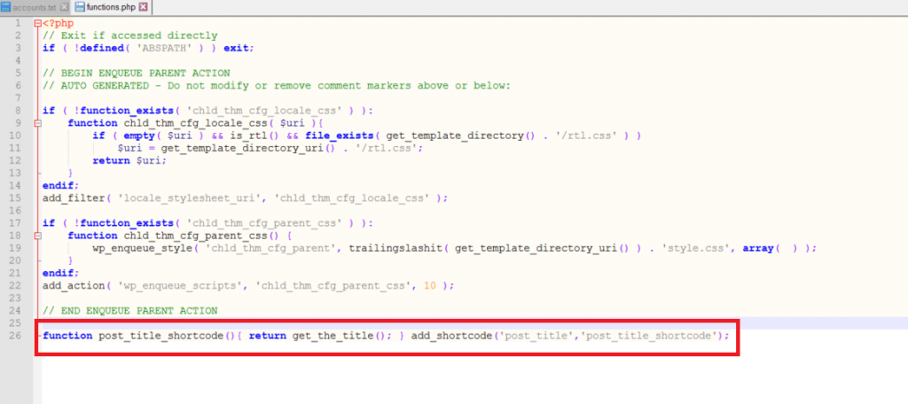 Directlink with PHP Integration